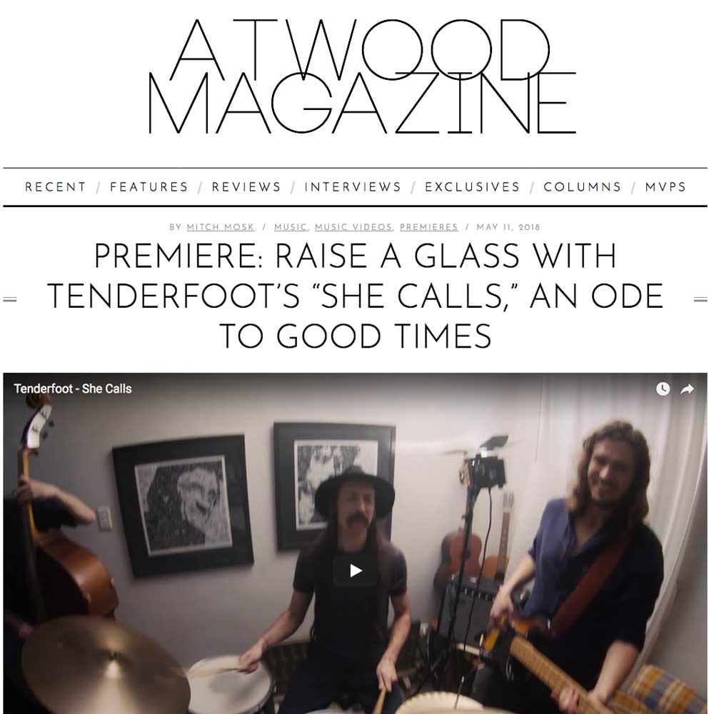 Atwood magazine - She calls